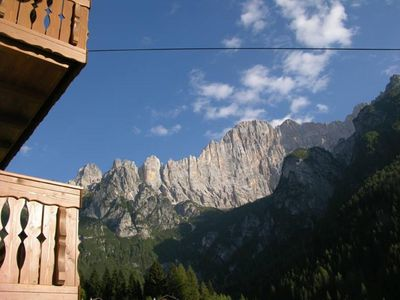 Photo for APARTMENTS IN VILLA ELENA ON THE DOLOMITES OF ALLEGHE