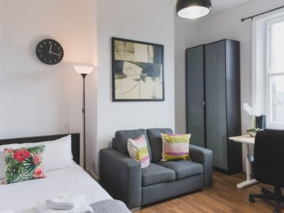 Photo for Bethnal Studio 13 apartment in Tower Hamlets with WiFi & shared terrace.