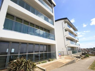 Photo for Zenith 16 is a beautiful apartment overlooking Porth Beach