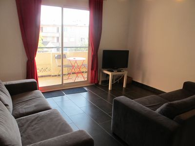 Photo for f3 Saint Raphael Apartment 10 minutes walk from downtown, the beach