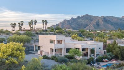 Photo for Spacious Custom Home with Private Mountain and Desert Views from All Rooms