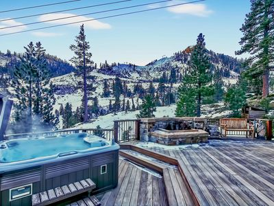 Photo for Stunning Mtn. Views, HOT TUB, large deck, hiking, & Ski-in & out! ❤ by AvantStay