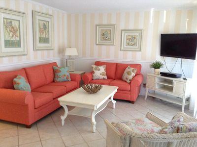Photo for Great 2BR by the Beach - Newly Remodeled Villa - Book for Summer & Fall Now