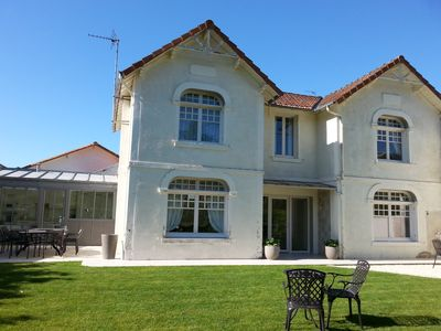 Photo for Beautiful villa 100 m from the beach of the center
