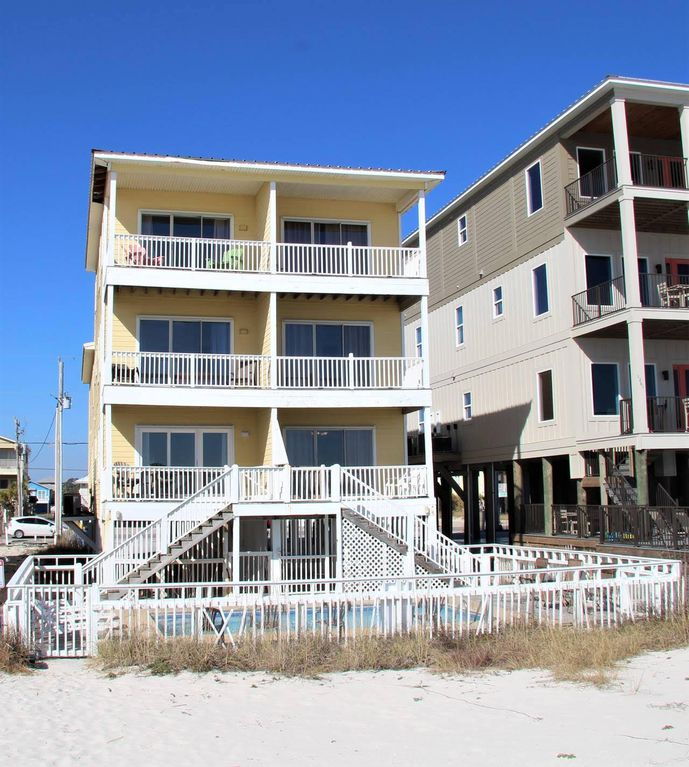 Gulf Shores Beach House Rentals With Pool: Gulf Front House W/ Beach Front Pool