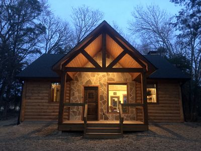 Photo for Sweet Escape-Brand New Luxury Log Cabin
