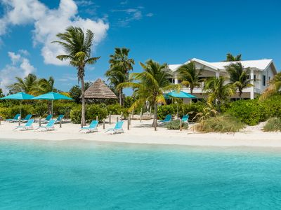 Photo for Crystal Sands Villa! BEACHFRONT! Sandy Sapodilla Bay Beach! SEPTEMBER SPECIAL!