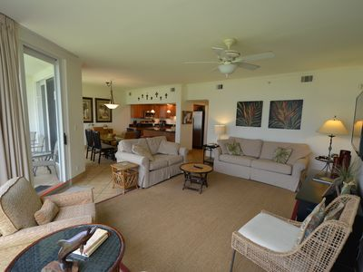Photo for Seaspray West 102  Gulf Front, ground floor As Close as You Can Get to the Beach
