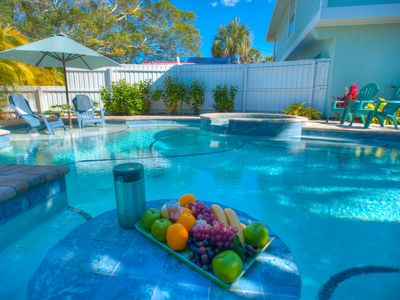 Photo for Private Pool & Spa with May Week Discounts! Beach Bliss: 2 BR / 2 BA