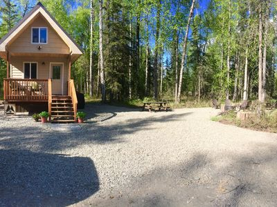 Photo for Luxury in the wilderness! Enjoy Indoor Sauna! Book small or large group!