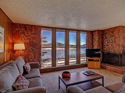 Photo for Stunning Lake Views. Downtown. King Bed, Pool, Hot Tub. FREE activities for our guests.