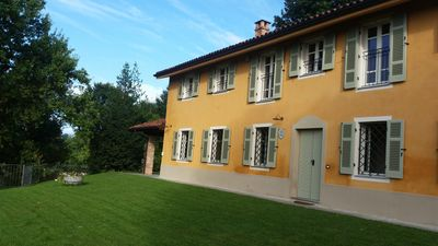 Photo for Beautiful country house just rebuilt with 360 degree views of vineyards and hills