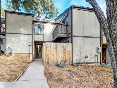 Photo for NEW LISTING! Full kitchen & balconies w/ views of Mt. Elden - close to town