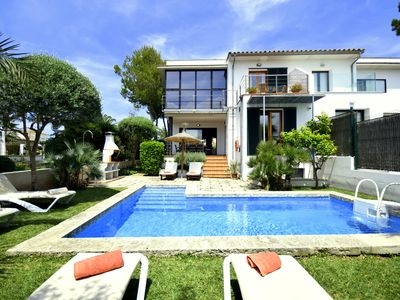 Photo for 4BR Villa Vacation Rental in Santa Margalida, Son Baulo