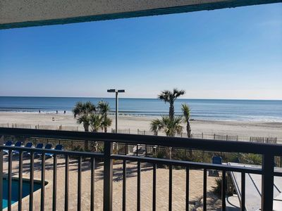 Photo for Beachfront One Bedroom Condo at the Landmark Resort~Unit 232