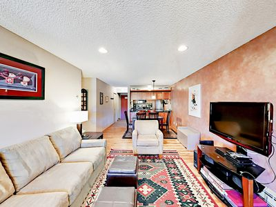 Photo for Ski-In/Ski-Out 2BR View Condo at Breckenridge w/ Balcony & Fireplace