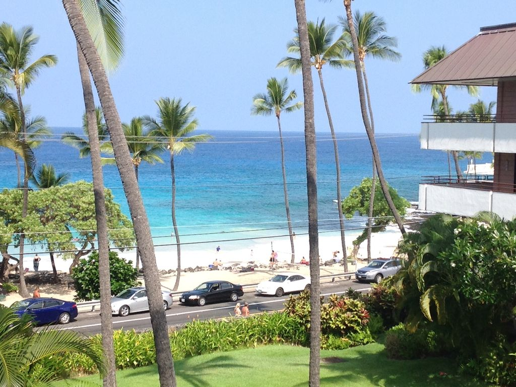 Kona Condo White Sands Village Beach View Ocean 215