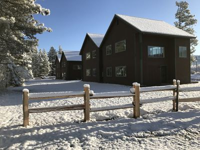 Photo for Cozy cabin with all the amenities of home!