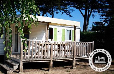 Photo for Camping Antioche **** - Maeva Camping - Mobil Home Comfort 4 Rooms 8 People (4 Adults and 4 Children - 18 years)