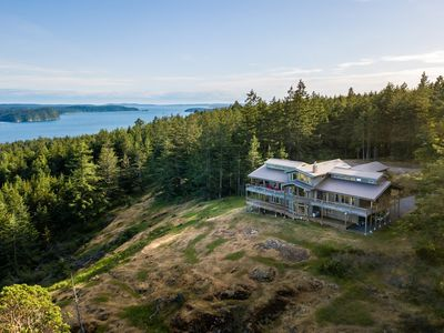 Photo for NEW LISTING! Upscale private retreat w/sound views on 5 acres, room for everyone