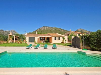 Photo for Finca for 6 people-3 bedrooms, 40000sqm, pool, internet