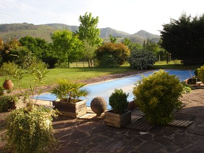 Photo for Cottage 2 people; ground level; with shared pool;