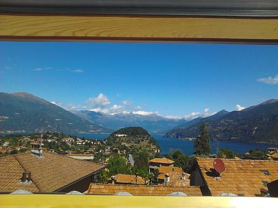 Photo for Studio with lake view and parking in La Filanda in a unique position in Bellagio