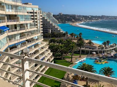Photo for Oceanfront, family-friendly apt. w/incredible views, shared pools, tennis, & gym