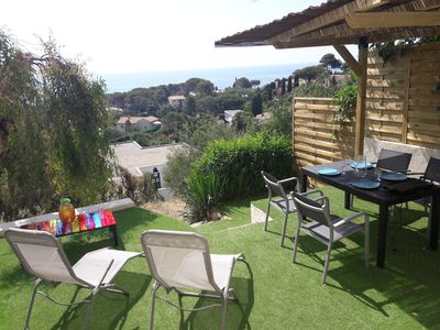Photo for Les Issambres apartment rental sea view