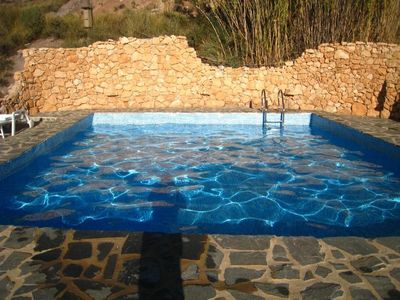 Photo for Finca with private pool in a quiet location near Cabo de Gata Natural Park