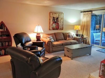 Photo for Newly updated! Spacious mountain condo,  amazing mountain views!