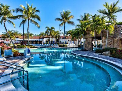 Photo for Naples Bay Resort Vacation Rental;Family & Adult Pool & many recreations activities.