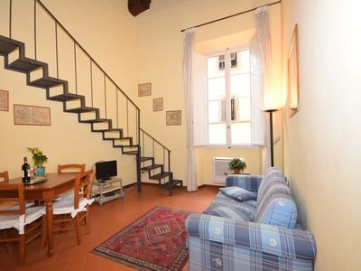 Photo for AFFRESCO    charming apartment in the historical center, near Dome