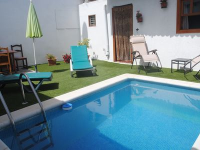 Photo for House with private pool in Granadilla, ideal for families