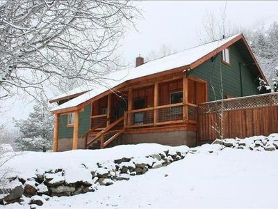 Photo for Quiet Comfy Home with Views of the Gondola and Mountain-Private Hot Tub!