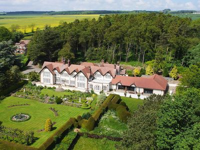 Photo for Irton Manor Exclusive  Indoor Heated Swimming Pool/Tennis Court/Golf/Games Room