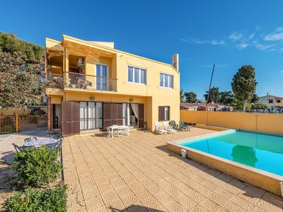 """Photo for Charming Holiday Home """"Villa sul mare con piscina privata"""" with Sea View, Wi-Fi, Garden & Pool; Parking Available"""