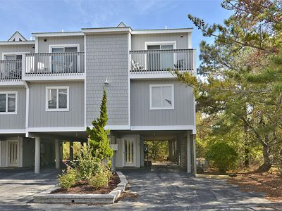 Photo for FREE ACTIVITIES!!!! Oceanfront End Unit, 4 bedroom, 2.5 bath multi-level townhouse