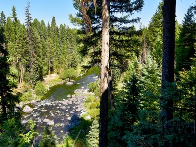 Photo for Stunning 5 Bdrm, 4bt on Payette River! Free WiFi
