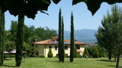 Photo for Cozy apartment in the countryside near Florence Arezzo and Siena