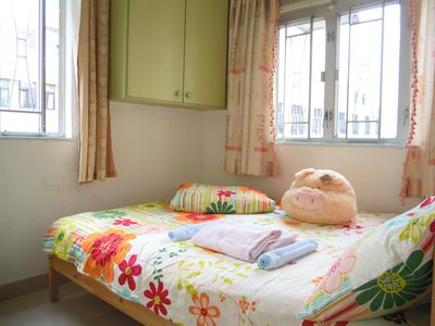 Photo for 2 Bdrm, tidy @Mongkok up to 6 pax