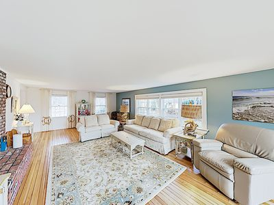 Photo for New Listing! Updated Estate w/ Large Deck - Walk 2 Blocks to Nantucket Sound