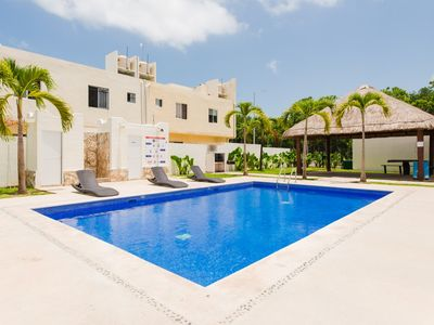 Photo for Palapa. Pool. Newly Decorated & Only 14 minutes to the Beach