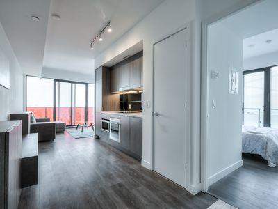 Photo for Brand New 3 Bedroom Condo in Heart of Downtown