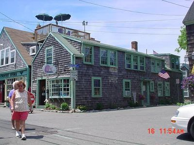 Photo for Charming 3 bdrm Apartment in Heart of Rockport-Bearskin Neck-Walk to Beach -WiFi