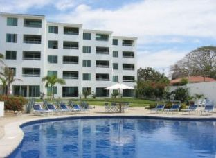 Condo del Mar is #401 (on left) in the beachfront Colibri buiding in Bucerias