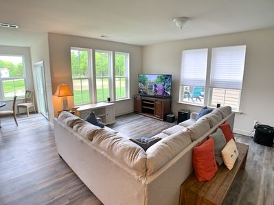 Spacious Family Room. Very Bright and open.
