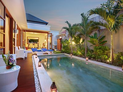 Photo for Spacious 2BR Pool Villa Lucia for 8 person  - 5 minute to the beach
