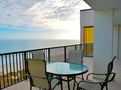 Photo for Luxury Oceanfront 3 Bedroom 2 Bathroom Top Floor Penthouse w/ Huge Balcony!