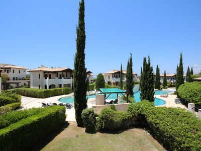 Photo for Aphrodite Hills, 2 Bed Apartment. Beautiful 2 Bed , Overlooking swimming pools